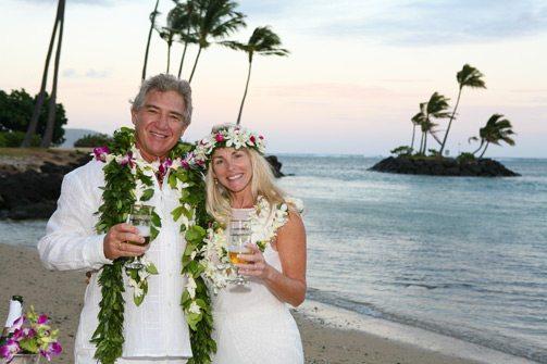 Waialae Beach Wedding