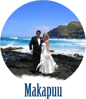 beach wedding makapuu oahu hawaii