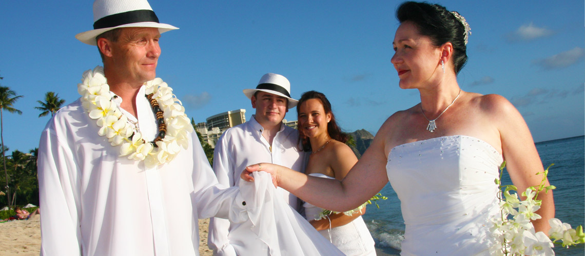 Wedding Vow Renewal Hawaii