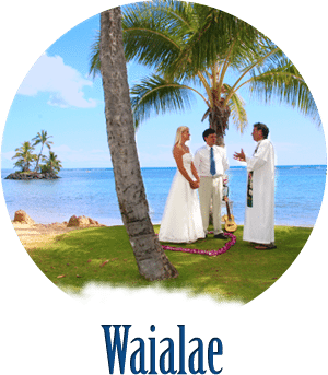 beach wedding waialae oahu hawaii