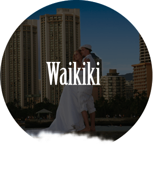 beach wedding waikiki oahu hawaii