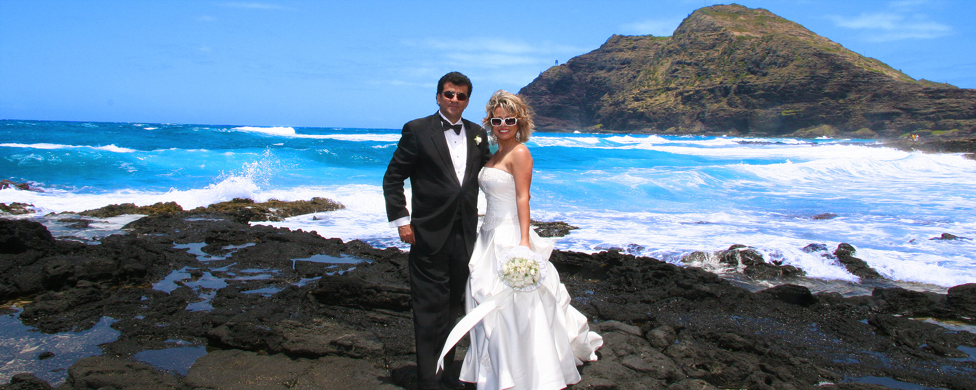 Makapuu Beach Hawaii Wedding