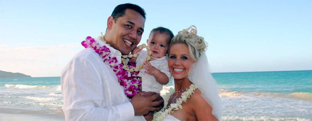 Hawaiian Wedding Vow Renewal