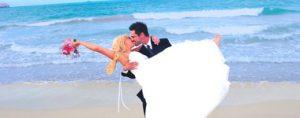 Hawaii Beach Wedding Barefoot