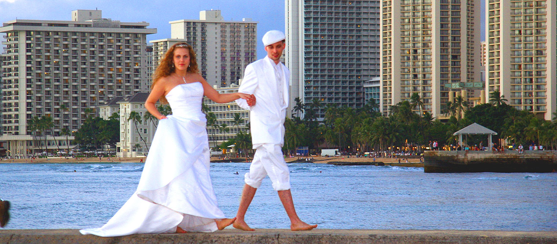 Waikiki Beach Wedding