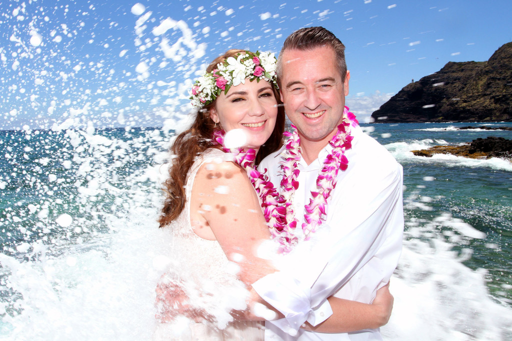 wedding splash