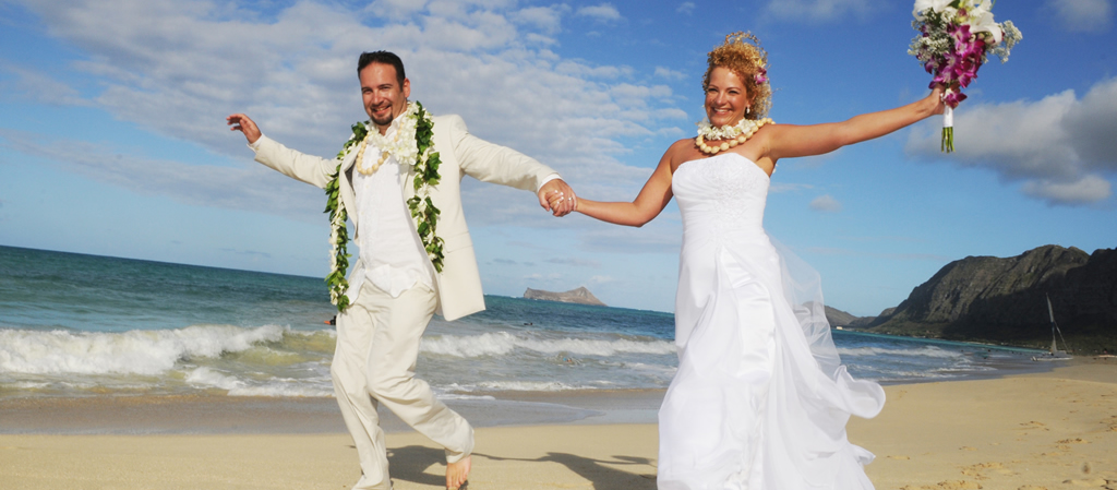 Hawaii wedding packages affordable beach wedding packages barefoot wedding hawaii tile junglespirit Images