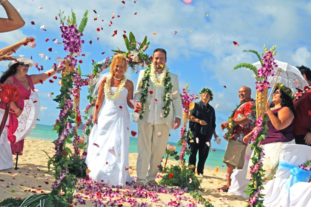 Hawaii Wedding Flower Shwer