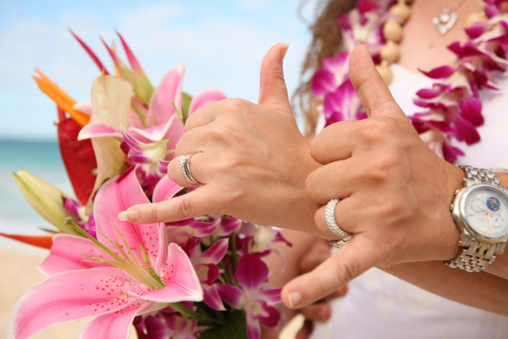 Hawaii Wedding Package - Shaka