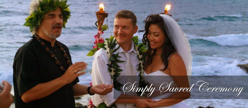 Hawaii wedding packages affordable beach wedding packages simply sacrid hawaii beach wedding package junglespirit Images