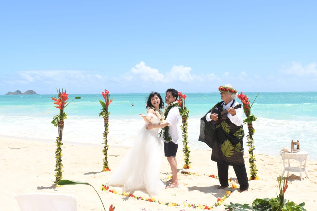Sacred Hawaiian Wedding and Vow Renewal Package