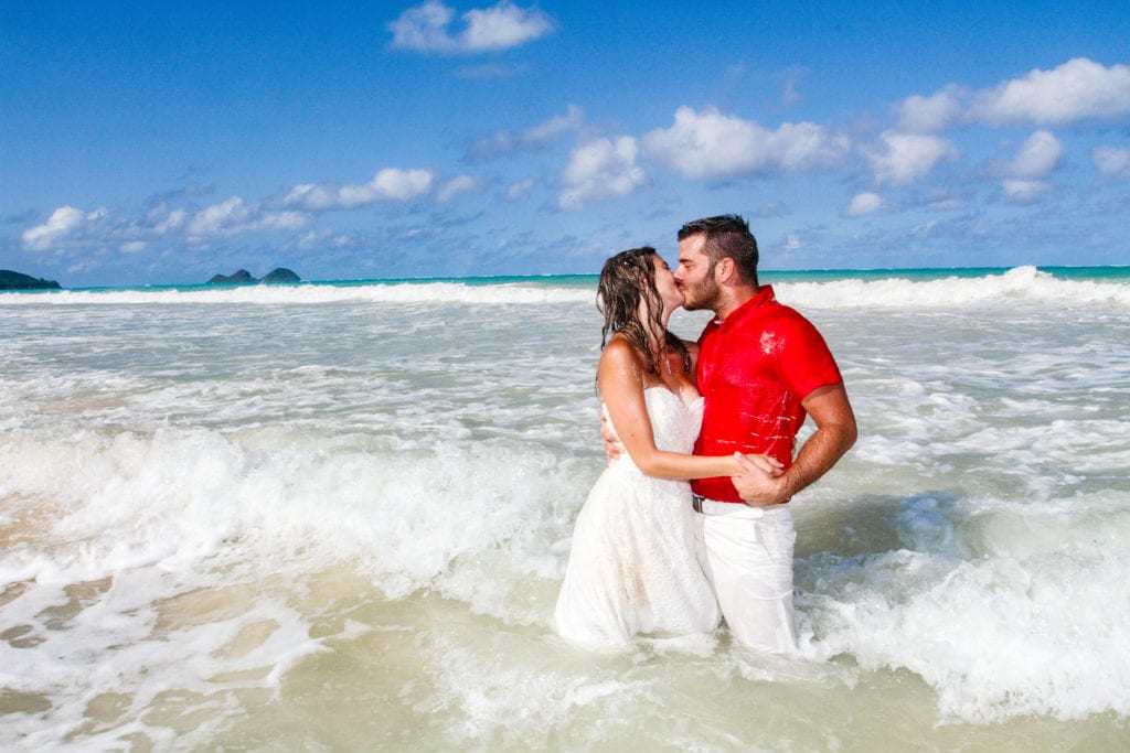 barefoot delight hawaii wedding package