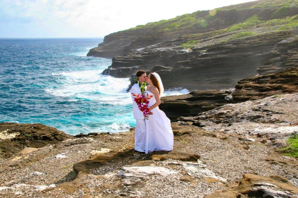 Hawaiian Beach Wedding - Heaven's Point