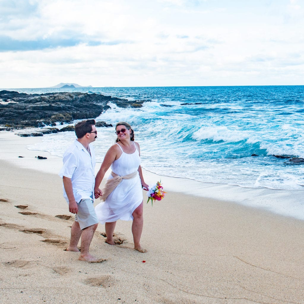 makapuu beach wedding oahu