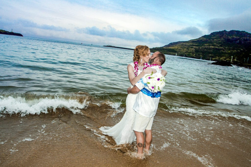 kalapaki beach wedding location