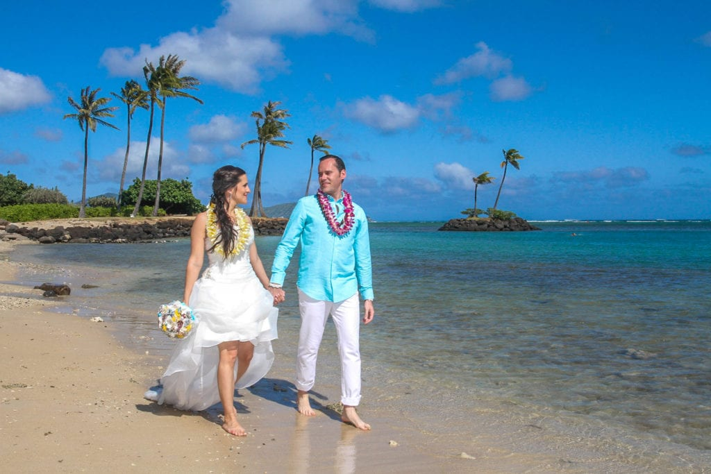 waialae beach wedding location