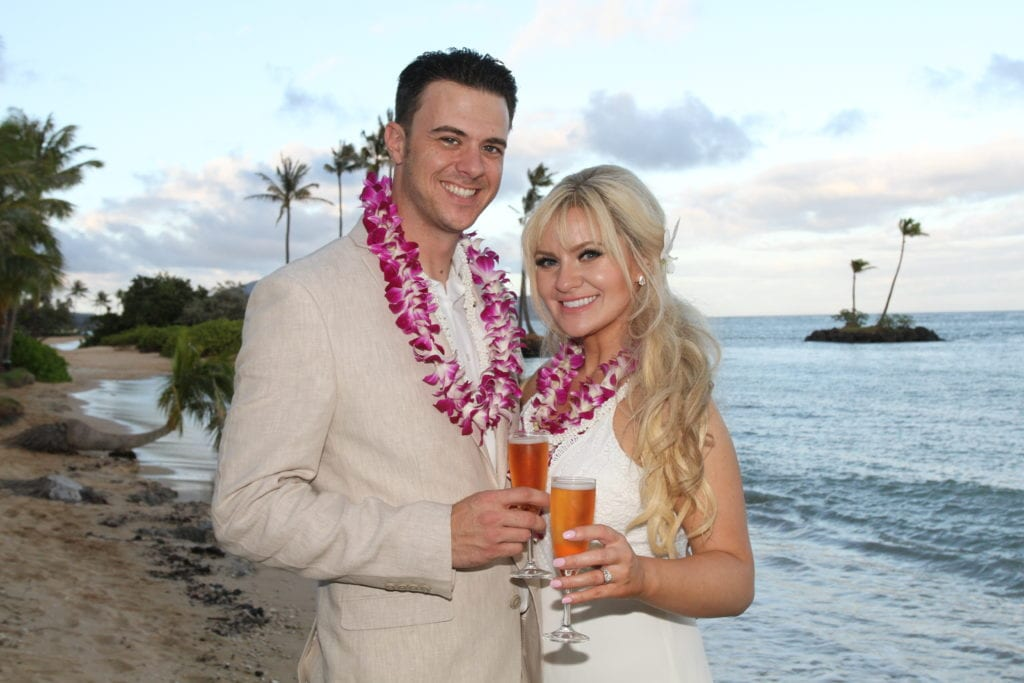 hawaii wedding on waialae beach