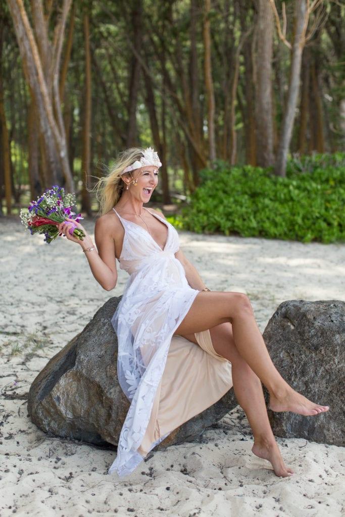 kauai wedding bride