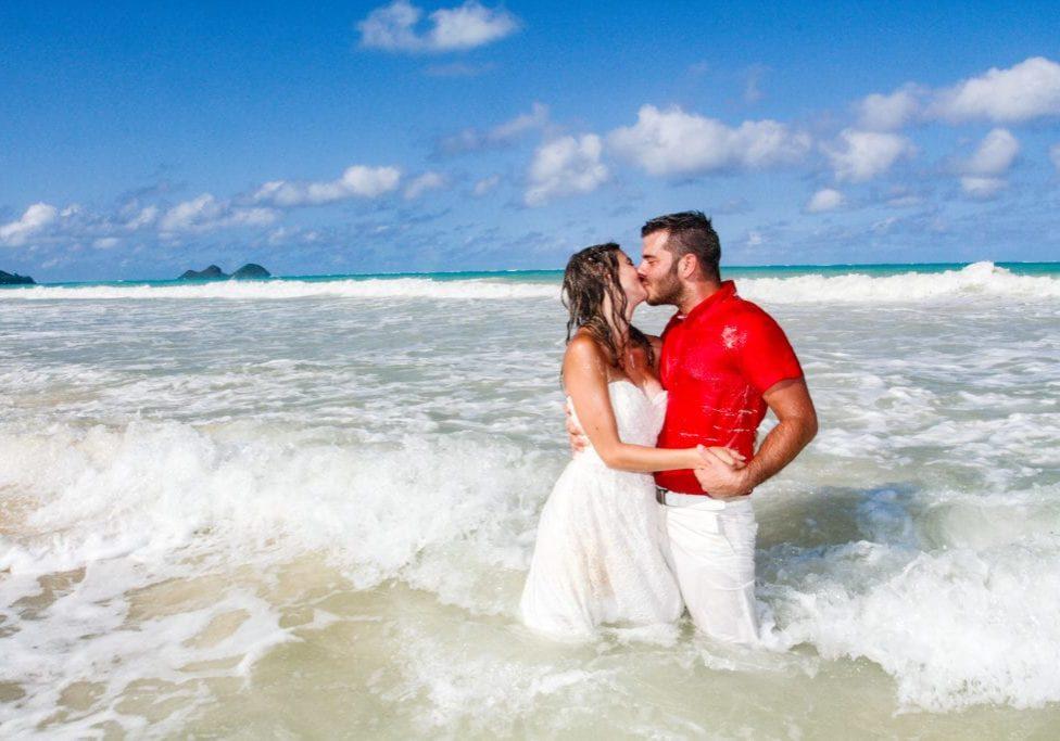 barefoot delight hawaii wedding package
