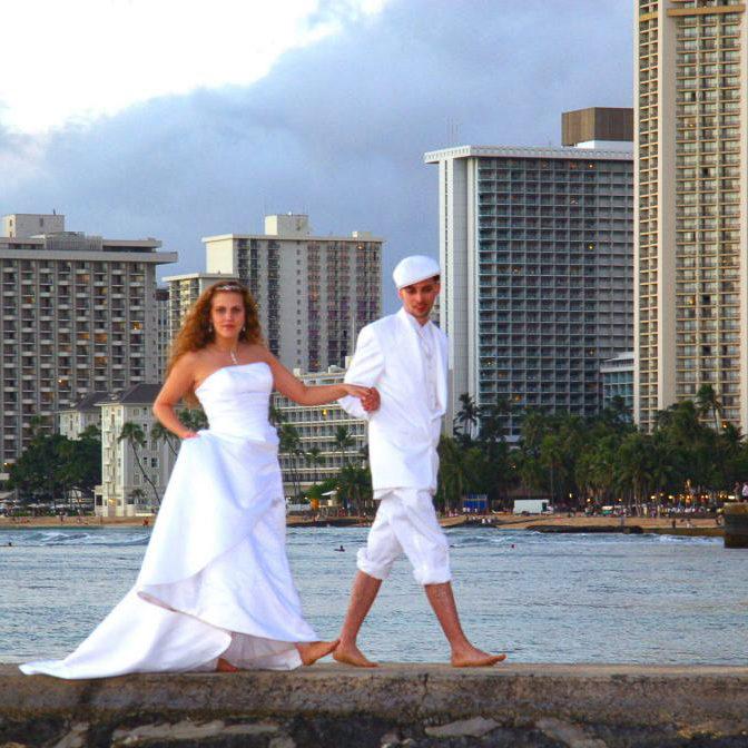 waikiki beach wedding location